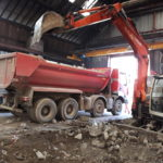 EDB Industrie Evacuation des gravats