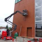 EDB Industrie Réalisation d'ouvertures pour chaque paliers d'ascenseur