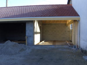 EDB Construction d'un garage