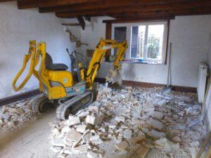 EDB Renovation -Démolition existant