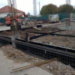 EDB - Insdustrie - Terrassement et fondation avec longrines