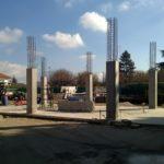 EDB Industrie - Piliers béton coulés